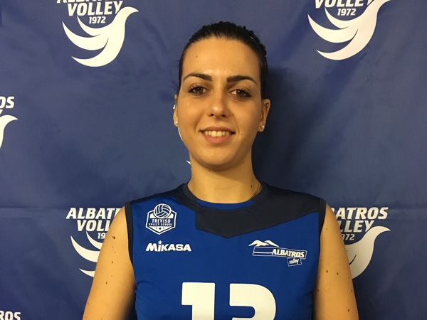 Team Albatros: Gloria Lovatello #13